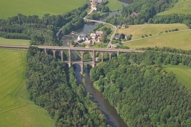 Göhrener Viadukt - Foto: Jürgen Ross
