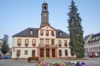 Rathaus Rochlitz - Foto: Gotthard Ladegast