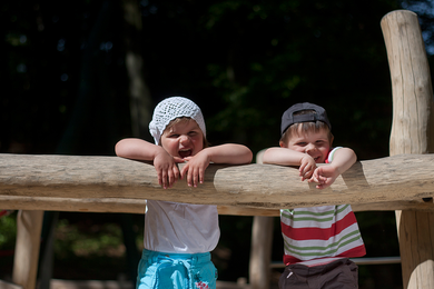Kinder auf dem Rochlitzer Berg - Foto: Bianka Behrami
