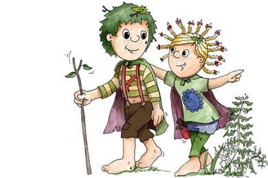 Waldemar und Wally - Illustration: Bianka Behrami