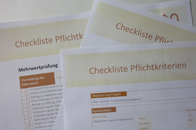 Checklisten - Foto: HVV