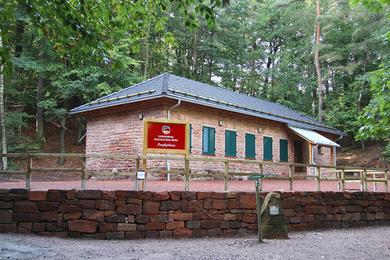 Geoportal Poprhyrhaus auf dem Rochlitzer Berg - Foto: Stv Rochlitz