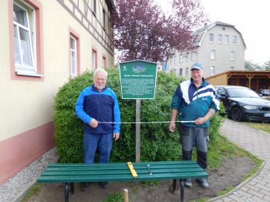 Ideenwettbewerb 2019: Infotafeln für historische Stätten - Foto: Heimatverein Köthensdorf