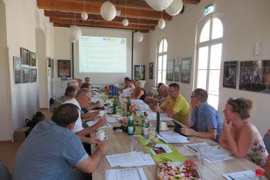 Koordinierungskreis - Foto: Regionalmanagement