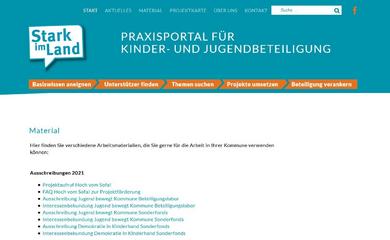 Screenshot: starkimland.de