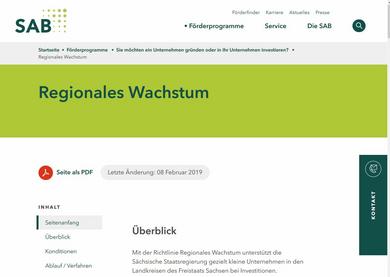 Screenshot: www.sab.sachsen.de